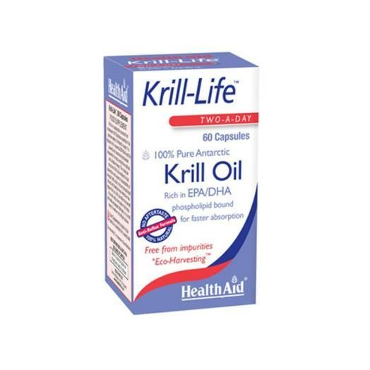 Health Aid Krill-Life Oil Caps 60 X 500mg
