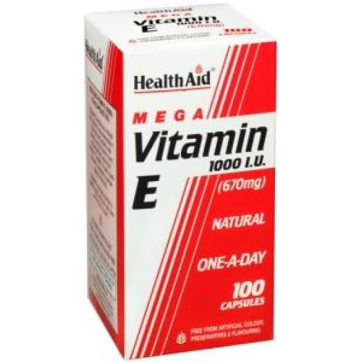 Health Aid Vitamin E 1000mg X 30 Caps