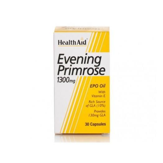Health Aid Evening Primrose 1300mg X 30 Caps