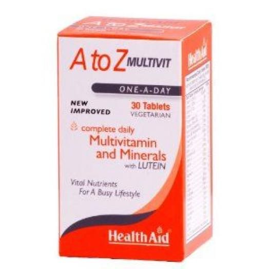 Health Aid A To Z Multivit X 30  Tabs
