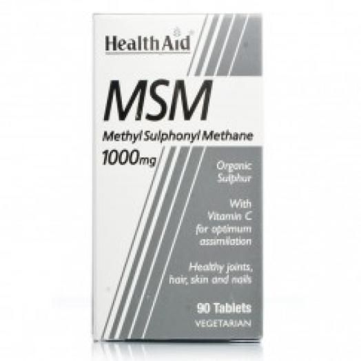 Health Aid Msm 1000 mg X 90 Tabs