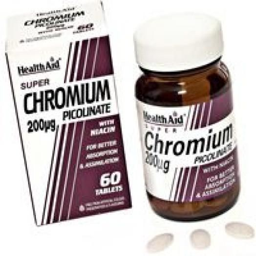 Health Aid Chromium Picolinate 1800mg X 60 Tabs