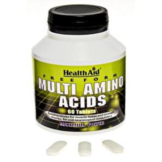 Health Aid Multi Amino Acids X 60 Tabs