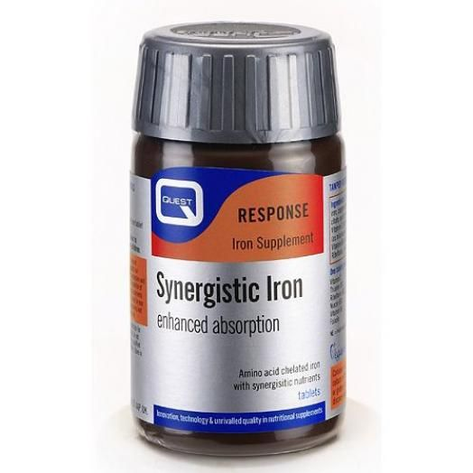 Quest Synergistic Iron X 30 Tabs