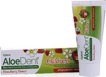 Optima Aloedent Children's Fluoride Free Toothpaste 50 ml