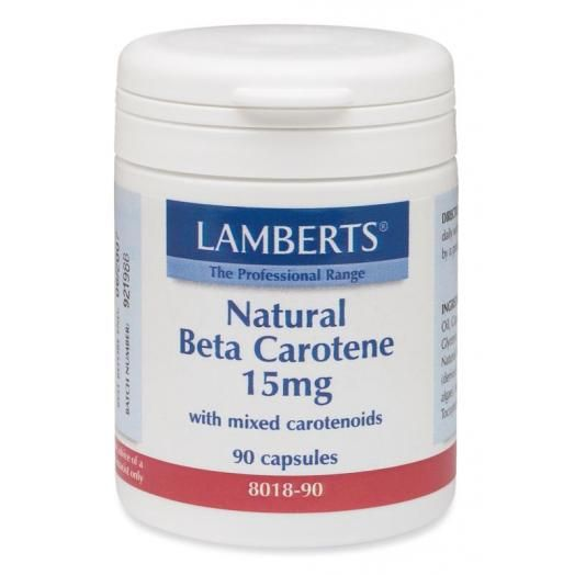 Lamberts Natural Beta Carotene 15 mg X 90 Caps