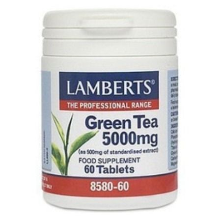 Lamberts green Tea 5000 mg X 60 Tabs