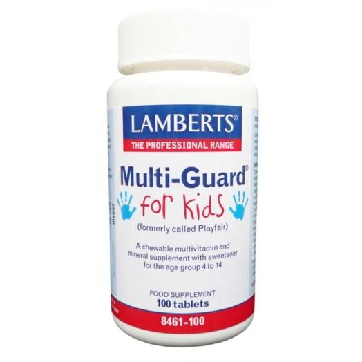 Lamberts Multi Guard For Kids (Play Fair) X 100 Tabs