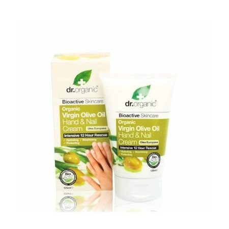 Dr.Organic Virgin Olive Oil Hand & Nail Cream 125 ml