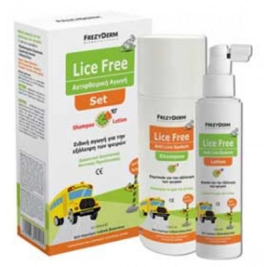 Frezyderm Lice Free Set 2 X 125 ml