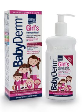 Intermed Babyderm Girl's Intimate Wash 300 ml