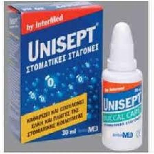Intermed Unisept Buccal Drops With Active Oxygene 30 ml