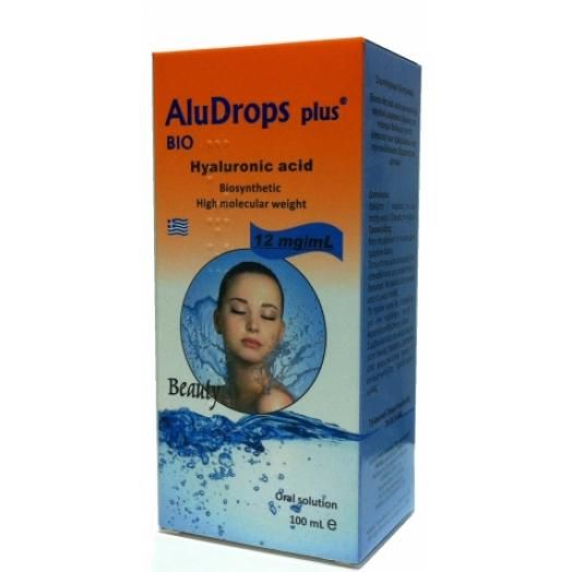Farmellas Aludrops Plus Bio Hyaluronic Acid 100 ml