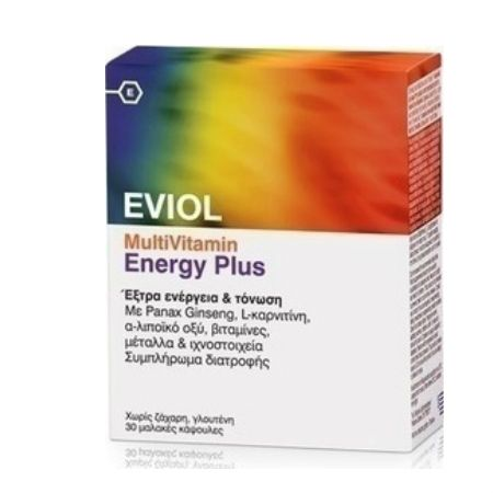 Eviol Multivitamin Energy Plus X 30 Caps