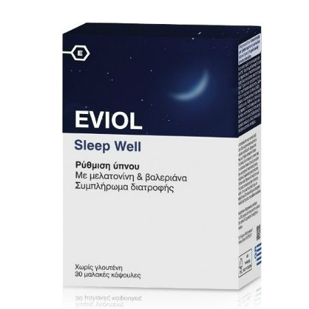 Eviol Sleep Well X 30 Caps