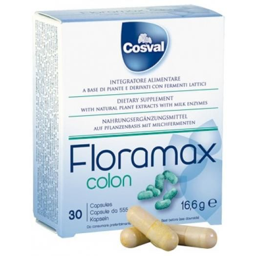 Cosval Floramax Colon X 30 Caps