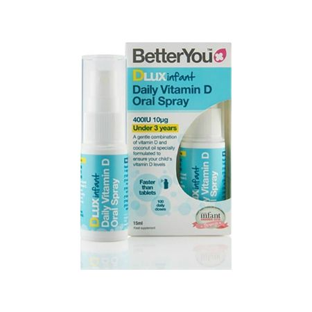 BetterYou Dlux Infant Υπογλώσσιο Spray Vit D 400 IU 15 ml