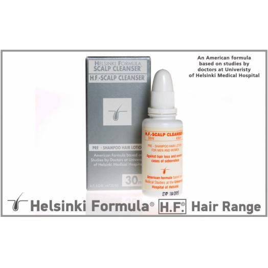 Helsinki Formula [ H.F.] -Scalp Cleanser Lotion 30ml