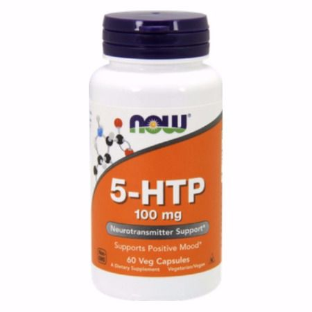 Now Foods 5-Htp 100 mg X 60 Vcaps