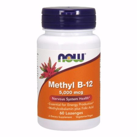 Now Foods Methyl B-12 5000 Mcg X 60 Παστίλιες