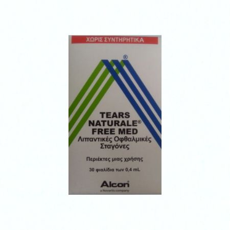 Tears Naturale Free Med 0,4 ml X 30 Amps