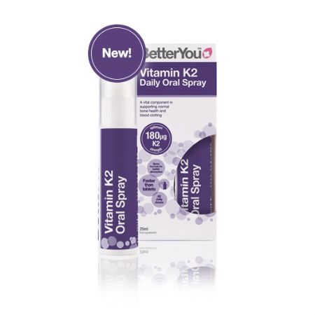 BetterYou Vitamin K2 Daily Oral Spray 25 ml