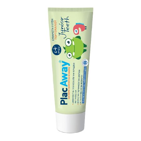 Omega Pharma Plac Away Junior Teeth Toothpaste (6+Ετών) 50 ml