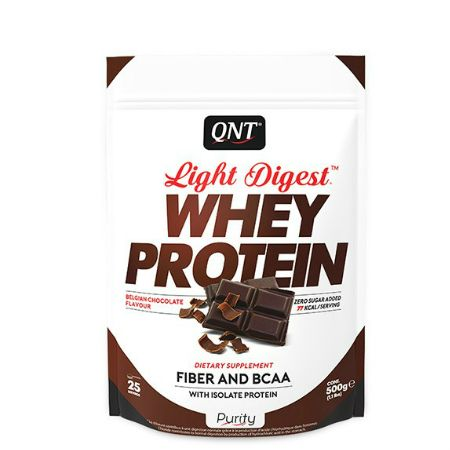 Qnt Light Digest Whey Protein 500 gr Belgian Chocolate