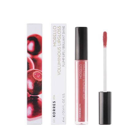Korres Morello Voluminous Lipgloss 16 Blushed Pink 4 ml