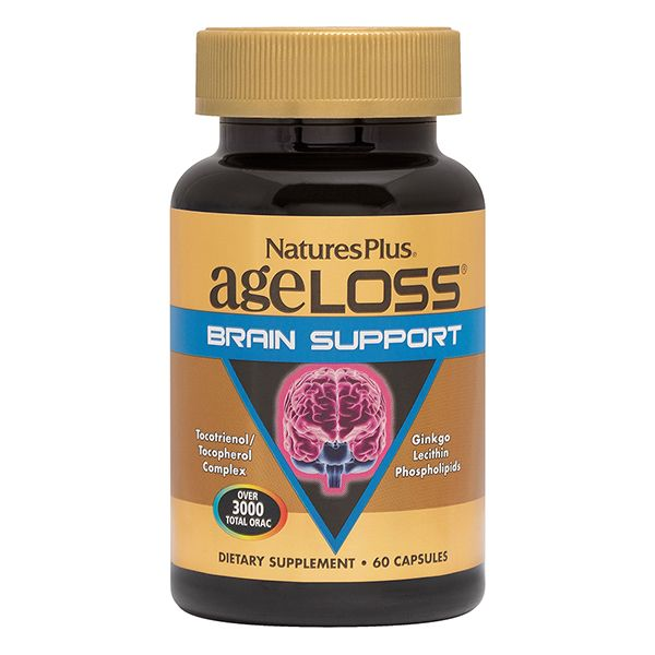 Nature's Plus Ageloss Brain Support X 60 Caps
