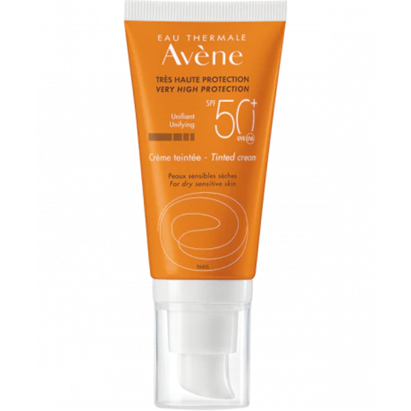 Avene Cream Spf 50+ Teinte 50 ml