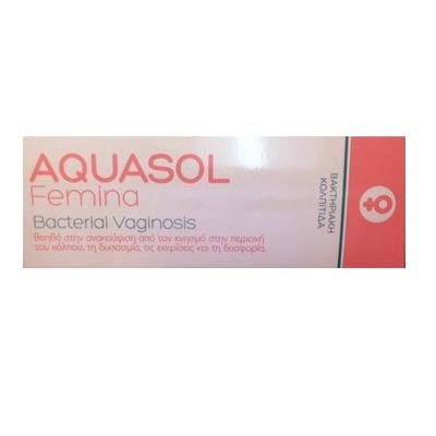 Aquasol Femina Bacterial Vagonosis 30 ml
