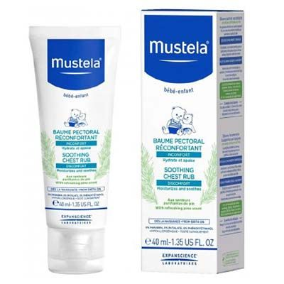 Mustela Soothing Chest Rub Comfort Balm 40 ml