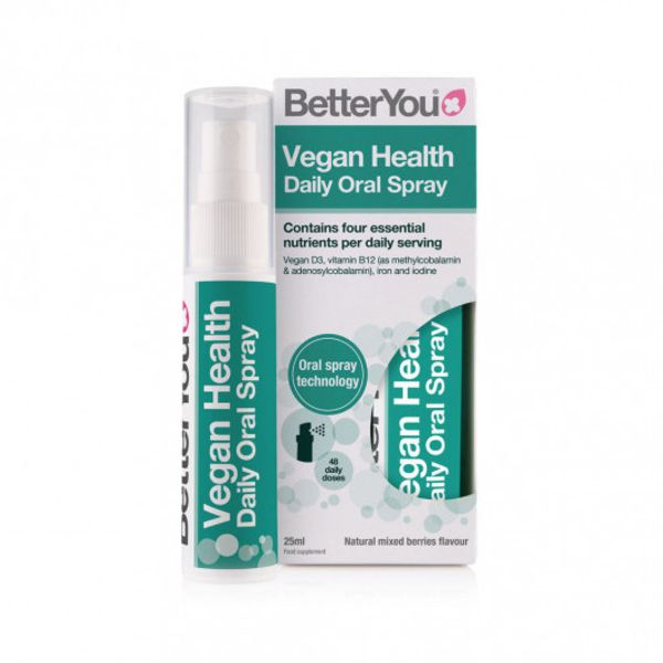 BetterYou Vegan Health Daily Oral Spray 25 ml