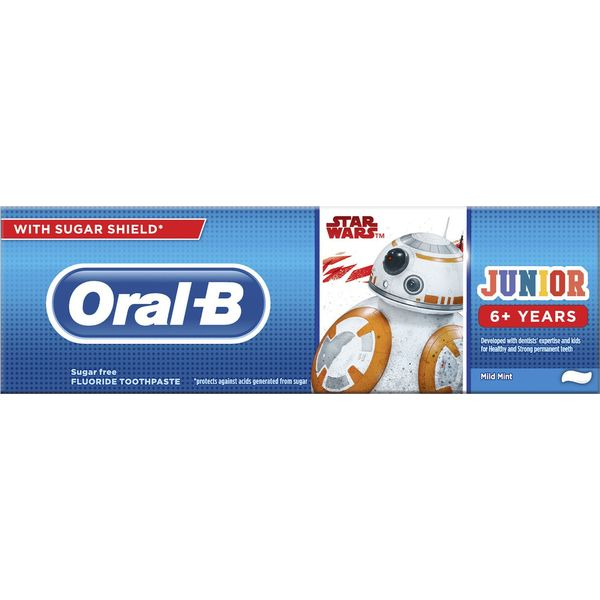 Oral-B  Οδοντόκρεμα Star Wars 6+ Disney 75 ml
