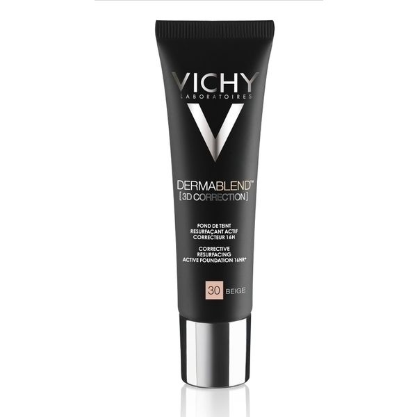 Vichy Dermablend 3D Correction Corrective Resurfacing Active Foundation 16HR 30 Beige SPF25 30ml