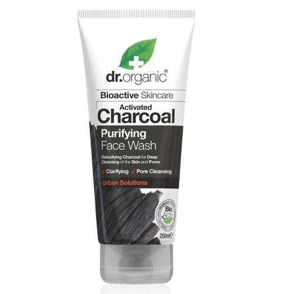 Dr.Organic Activated Charcoal Purifying Face Wash 200 ml