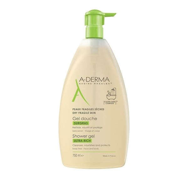 A-Derma Gel Douche Surgras 750 ml