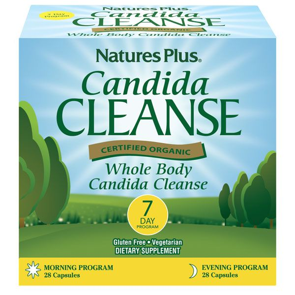 Nature's Plus Candida Cleanse 7 Day Program 56 Caps