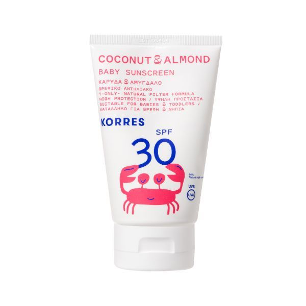 Korres Coconut And Almond Baby Sunscreen SPF30 100ml