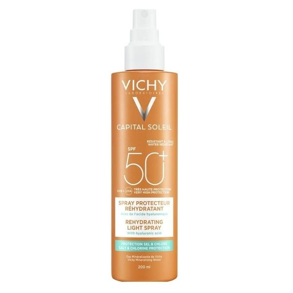 Vichy Capital Soleil Beach Anti-Dehydration Spray Spf50+ 200ml
