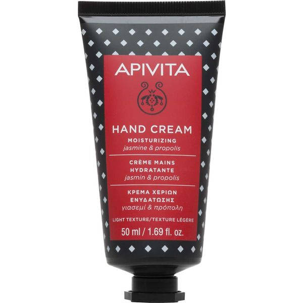 Apivita Hand Cream Moisturizing Jasmine & Propolis Light Texture 50ml
