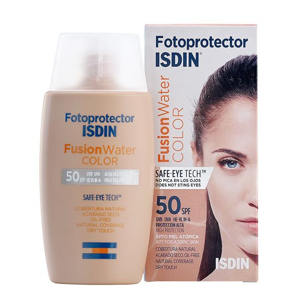 Isdin Fotoprotector Fusion Water Color Spf50 Oil Free 50ml