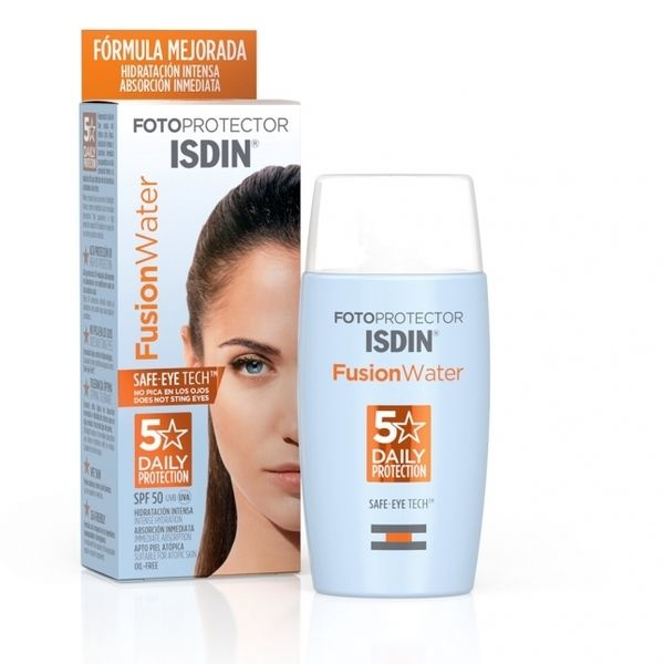 Isdin Fotoprotector Fusion Water Spf50 Oil Free 50ml
