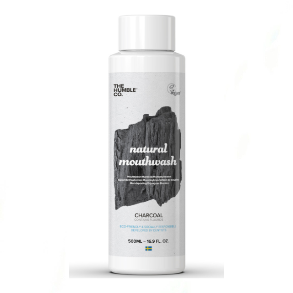 The Humble Co. Natural Mouthwash Charcoal 500ml