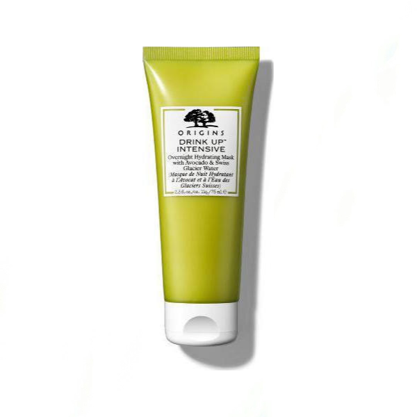 Origins Drink Up Intensive Overnight Hydrating Mask With Avocado & Swiss Glacier Water 75ml