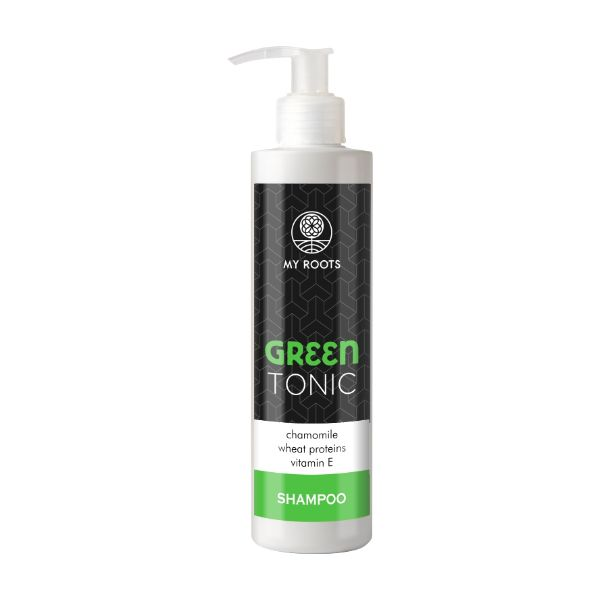 My Roots Green Tonic Shampoo Chamomile & Wheat Proteins 250ml