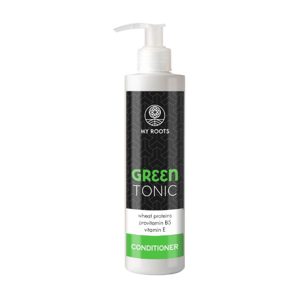 My Roots Green Tonic Conditioner Wheat Proteins & Vitamin E 250ml